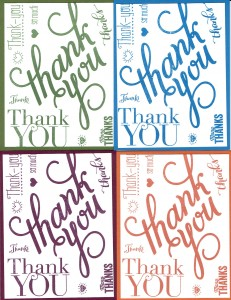 Stampin UP: Another Thank You