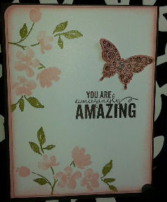 Painted Petals stamp card